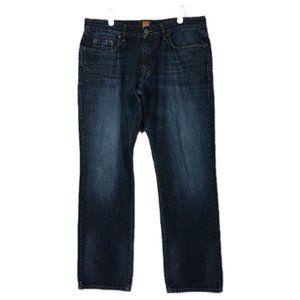 Hugo Boss Orange Jeans Mid-Rise Straight Fit 34x32